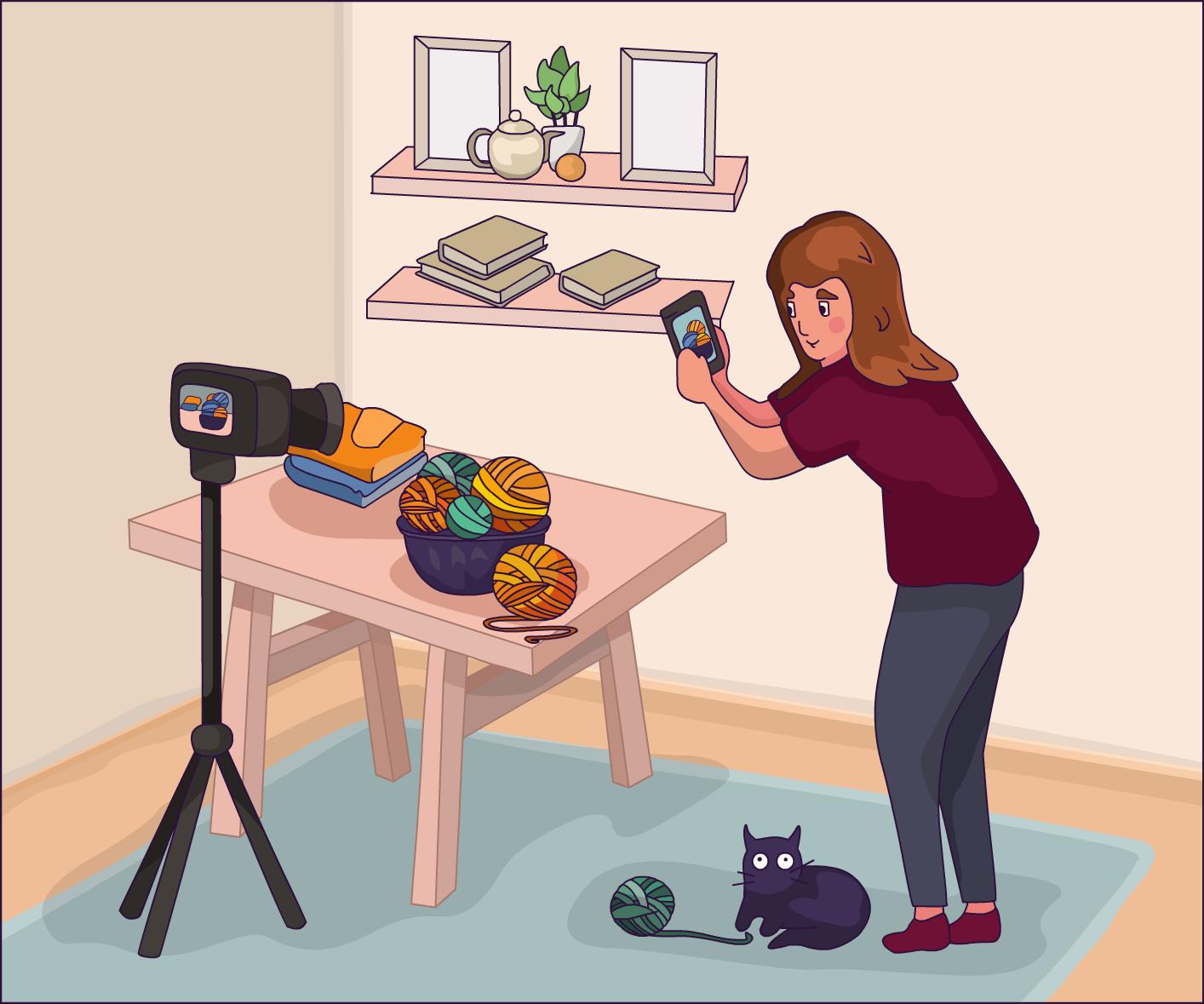 Фотоаппарат или смартфон: на что лучше снимать творчество